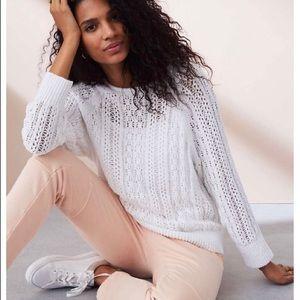 Lou & Grey Spring Dream Sweater XL **Runs Big**